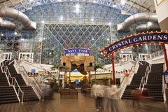 Inside Navy Pier Royalty Free Stock Photo
