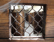 Inside nazi prison. View inside the Small Fort Terezin, nazi prison, Czech Republic, Europe Royalty Free Stock Photos