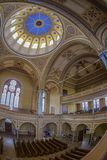Inside of the Neolog Synagogue Zion. Oradea, Romania Royalty Free Stock Image