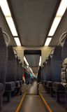 Inside the new Belgian train Royalty Free Stock Images