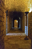 Inside the New Fortress, Corfu. Inside one of the passage ways of the New Fortress, Corfu town Stock Photo