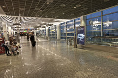 Inside the new Terminal  in Frankfurt Stock Images