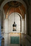 Inside the New York City Public Library Royalty Free Stock Image