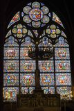 Window of Notre Dame stock image
