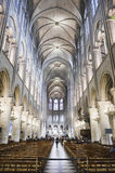 Inside Notre Dame, Paris Royalty Free Stock Image