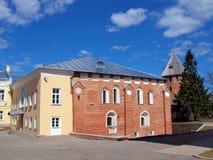 Inside the Novgorod Kremlin Royalty Free Stock Images