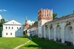 Inside the Novodevichy convent in Moscow Royalty Free Stock Image