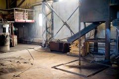 Inside nowożytna fabryka Zdjęcia Stock