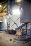 Inside nowożytna fabryka Zdjęcia Royalty Free