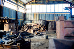 Inside nowożytna fabryka Obrazy Stock