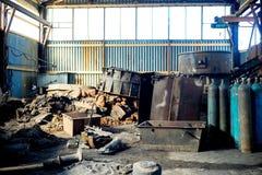 Inside nowożytna fabryka Obraz Royalty Free