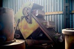 Inside nowożytna fabryka Fotografia Stock