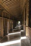 Inside Nyan Shwe Kgua temple. Royalty Free Stock Photos