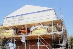 Inside odbudowa na zewnątrz odświeżanie domu projekta Obrazy Stock