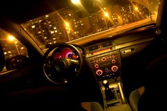 Free Inside Of A Car Stock Photography - 1387722