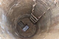 Inside Of Manhole Royalty Free Stock Image
