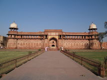Inside Of The Red Fort In Agra Stock Images