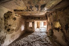 Free Inside Of The Rock-hewn Churches Of Ivanovo Stock Images - 100991944