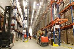 Inside Of Warehouse Stock Photo