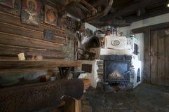 Inside old house Stock Photos