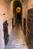 Inside the Old Prison under the Doge's Palace in Venice - Italy Royalty Free Stock Photography