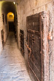 Inside the Old Prison under the Doge's Palace in Venice - Italy Stock Images