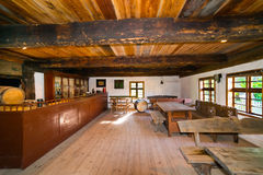 Inside of old rural home in Poland Stock Photo