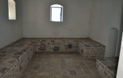 Inside an old Turkish Hamam. Stock Photos