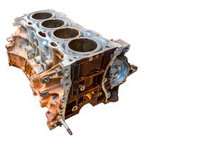Inside of old vehicle engine Royalty Free Stock Photography