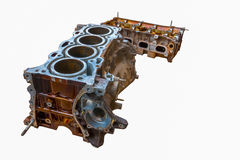 Inside of old vehicle engine Royalty Free Stock Photo