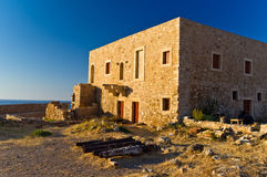 Inside old venetian fortress, Rethymno, Crete Royalty Free Stock Photo