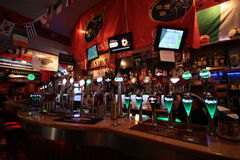 Inside the Oliver Plunkett pub in Cork Royalty Free Stock Photography