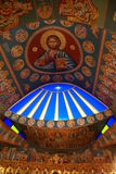 Inside an orthodox church Stock Photography