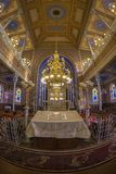 Inside of the Orthodox Synagogue, Oradea, Romania Royalty Free Stock Image