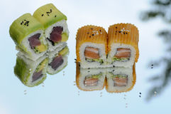 Inside out Sushi Royalty Free Stock Photography
