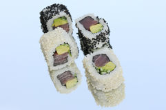 Inside out Sushi Stock Photo