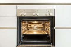 Inside of the oven Royalty Free Stock Photo