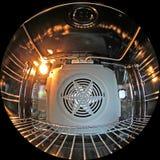 Inside oven Stock Image