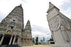 Inside of pagoda area of Wat JongKam Stock Image