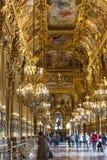 Inside the Palais Garnier Paris France Royalty Free Stock Photos