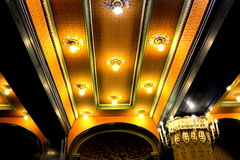 Inside the Palast of Culture in Targu-Mures, Romania Royalty Free Stock Photo