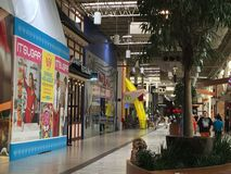 Inside Palisades Mall. A view inside the Palisades Mall in West Nyack in New York, the second largest shopping mall in the New York metropolitan area, the eighth Royalty Free Stock Image