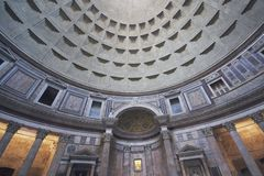 Inside the Pantheon Royalty Free Stock Images
