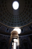 Inside the pantheon Stock Photography