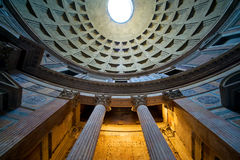 Inside the Pantheon, Rome Stock Image