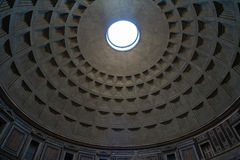 Inside Pantheon, Rome, Italy Royalty Free Stock Image