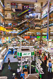 Inside Pantip Plaza Shopping Center for Electronics, Hard- and Software Royalty Free Stock Photos