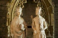 Inside Papieski pałac w Avignon zdjęcie stock