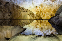 Inside Paradise Cave Thien Duong Cave, Ke Bang National Park, Vietnam stock image