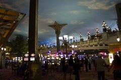 Inside the Paris Casino in Las Vegas stock photos